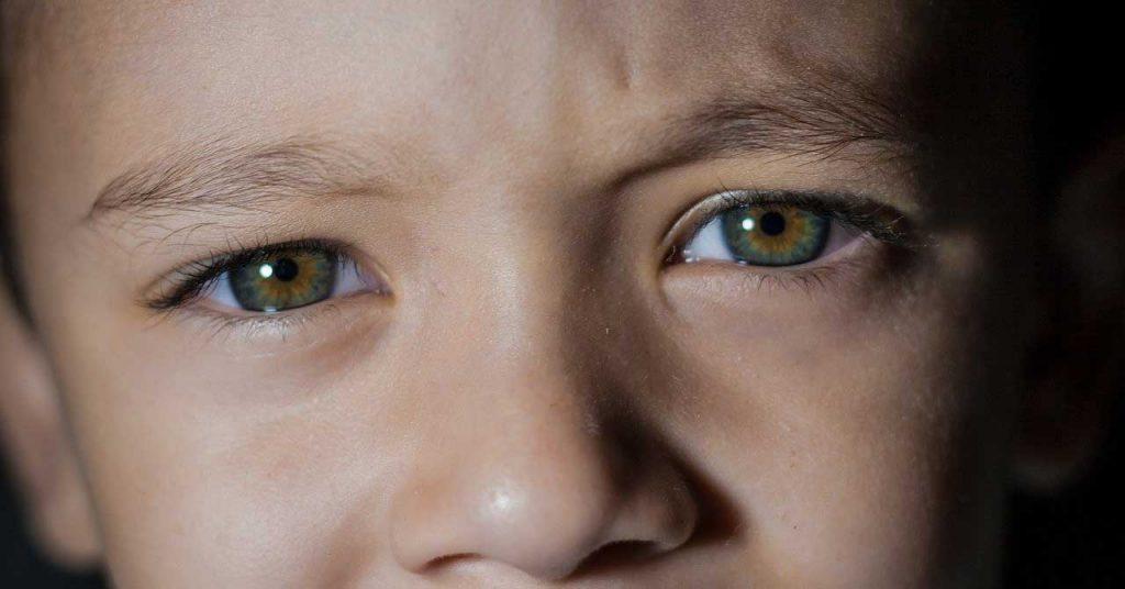 les yeux d'un enfant