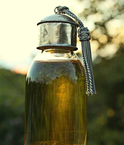 L'huile d'argan , ce qui est bon pour la peau