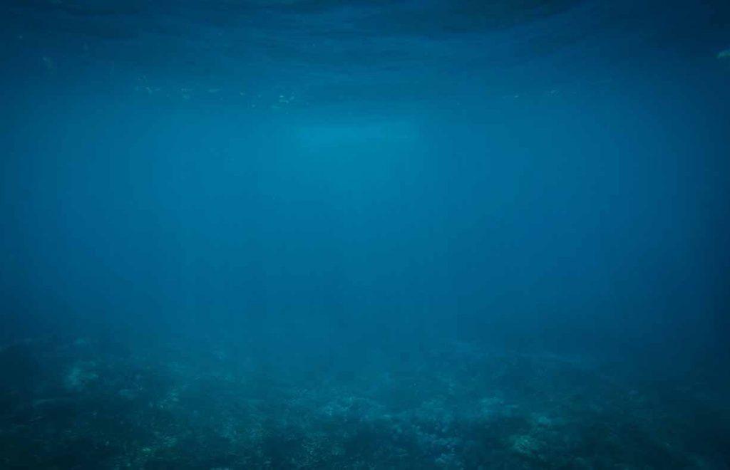 L'eau de l'océan sombre = ce qui fait peur aux personnes qui ont la Thalassophobie